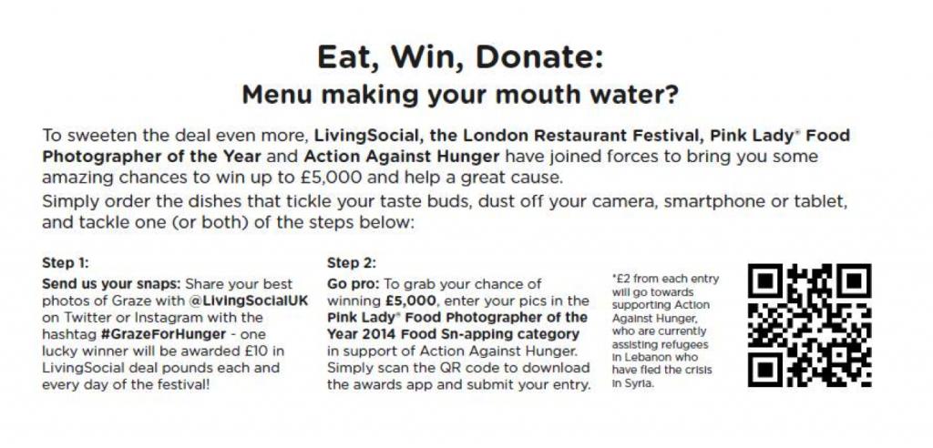 Eat, Win, Donate