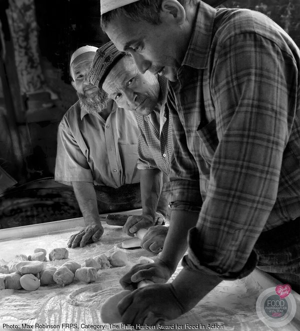 Bread makers in Kashgar, China