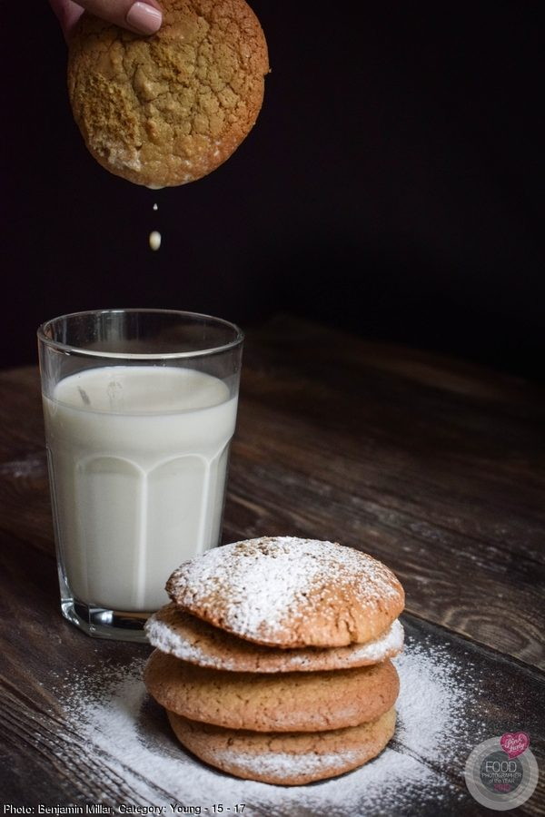 Milk drop & Almond Biscuits