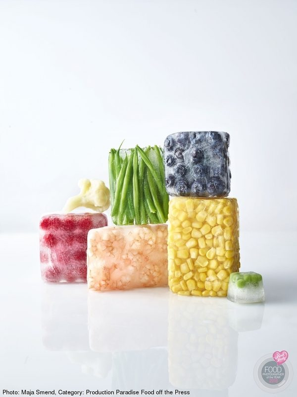 Frozen fruit and vegetables