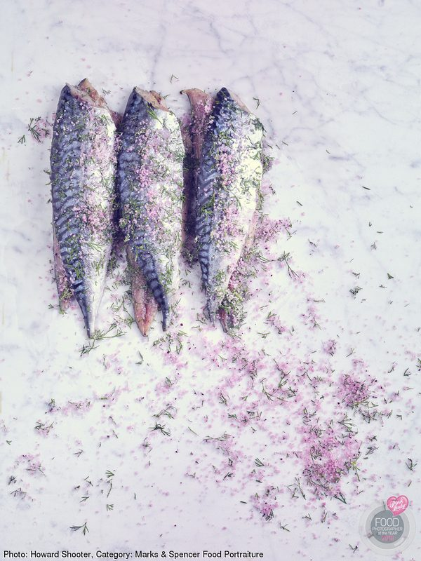 Mackerel Gravadlax with Hibiscus Salt