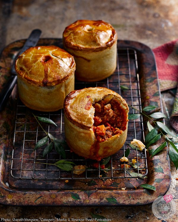 Chicken Tikka Pies