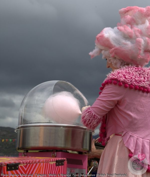 The Candyfloss Lady