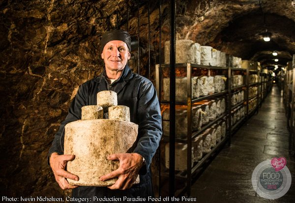 Master cheesemaker, Wookey Hole, Somerset, UK