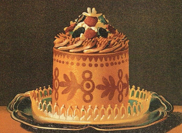 Timbale a la milanaise from 'Livre de Cuisine' Jules Gouffé (1867) history of food photography