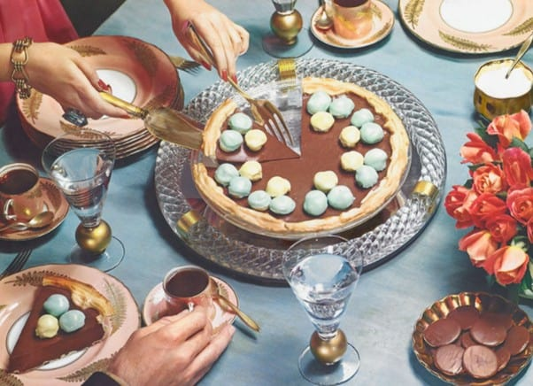 A History of Food Photography introduction of colour