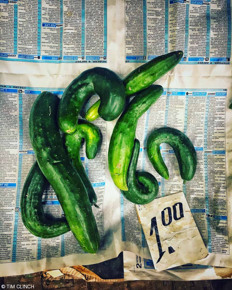 2018 on the phone 2nd place street food cucumbers