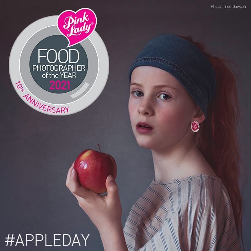 Apple Day - Pink Lady Food Photographer of the Year