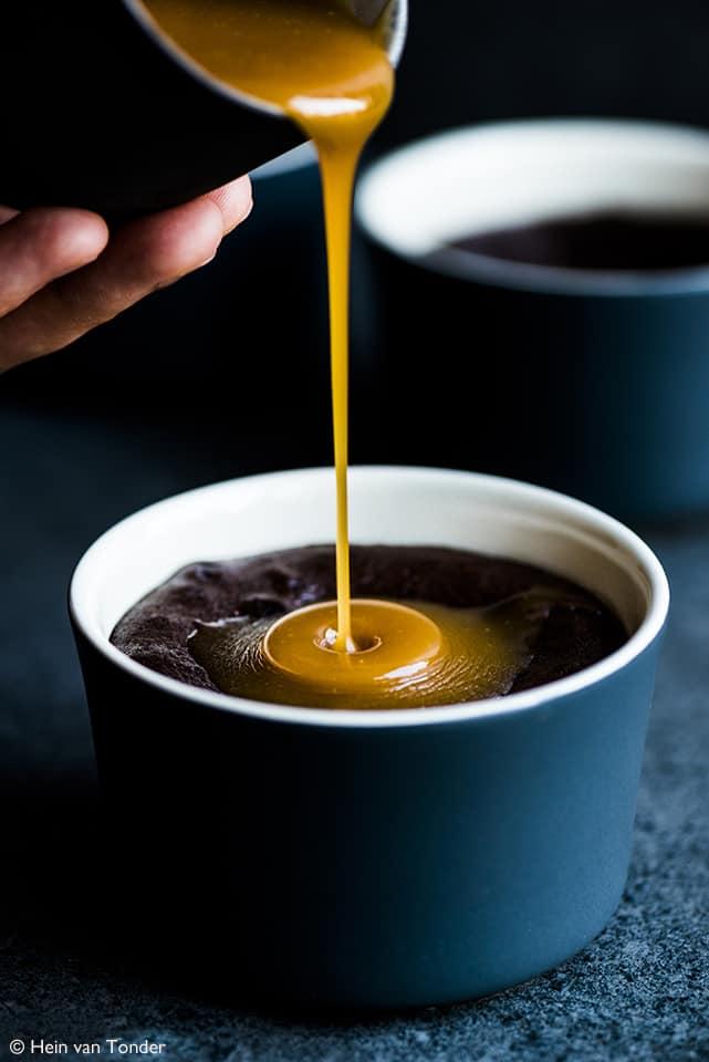 Molten Caramel Choc Pud Hein Van Tonder Salted Caramel Drizzle