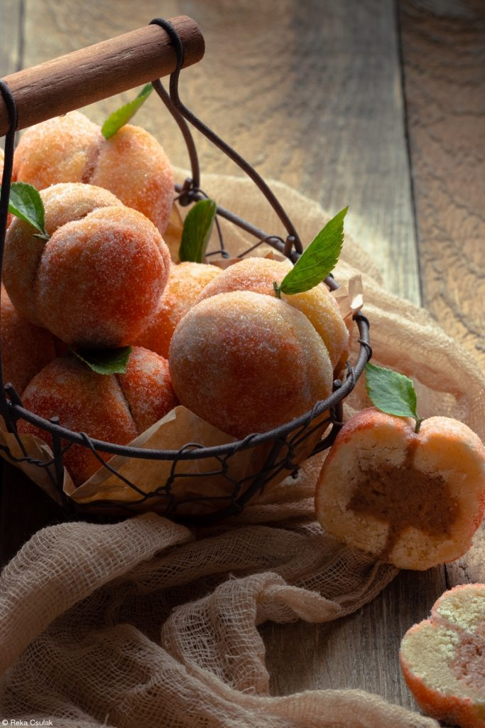 hungarian wedding peach cake reka csulak HC Bloggers