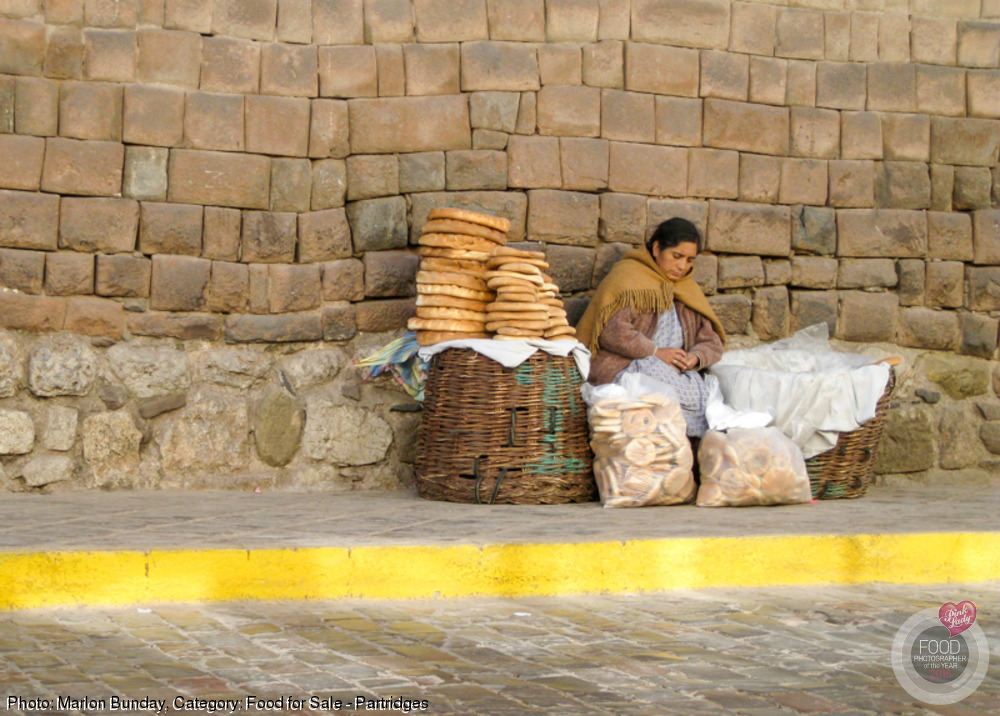Dozing Bread Seller