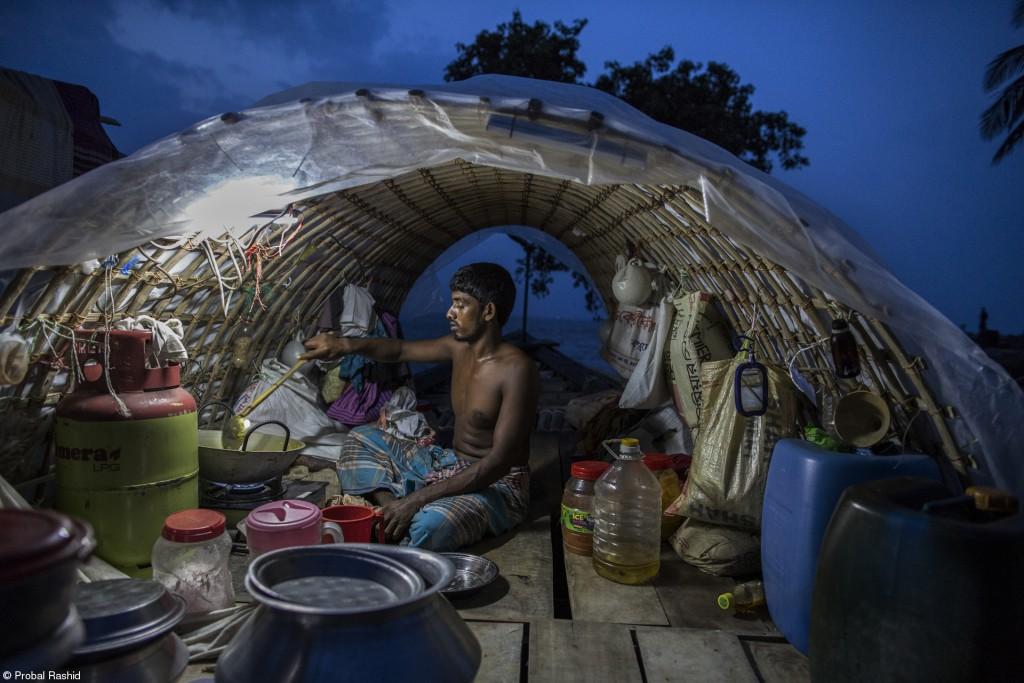 Bhola Island in Bangladesh